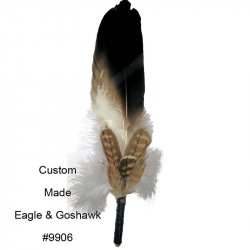 #9906 Large Wedged Tail Eagle & Goshawk Mount